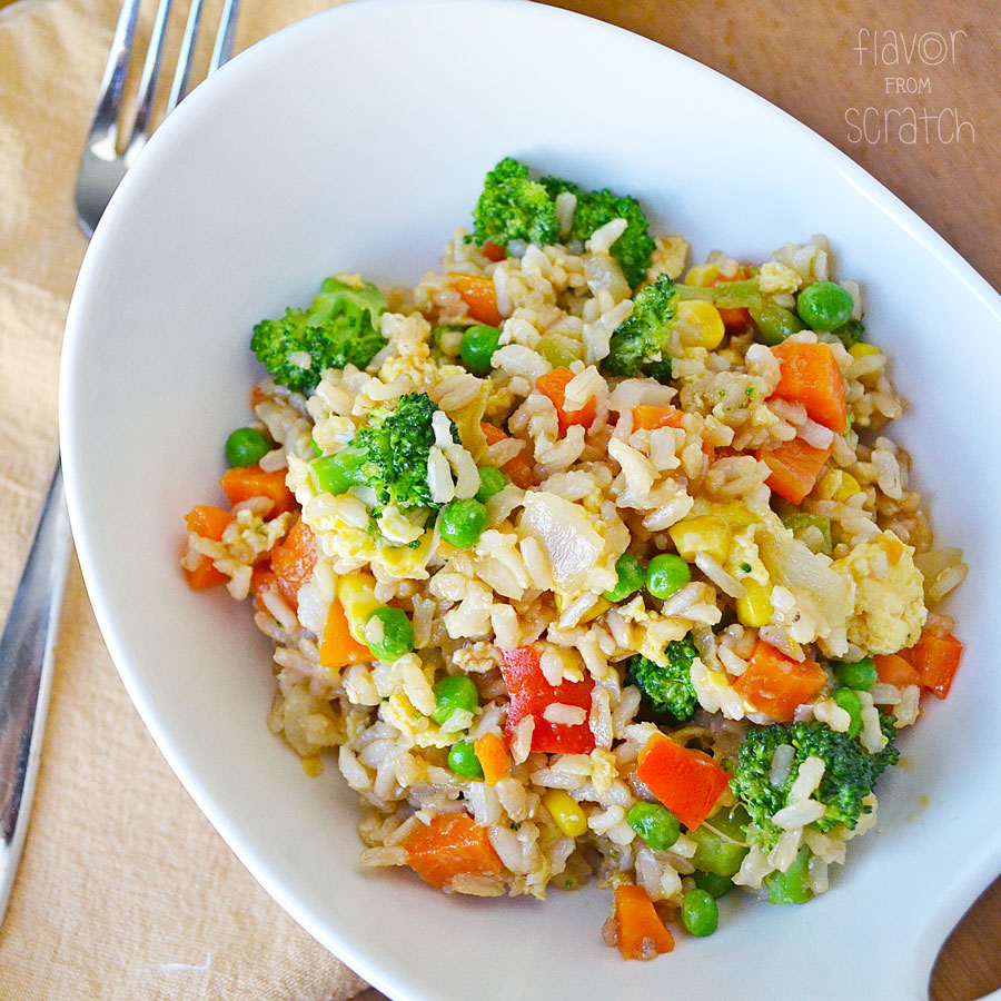 Veggie Fried Rice Flavor From Scratch